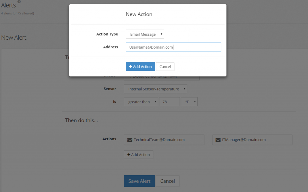 Add multiple email recipients for Alerts
