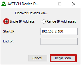 How To Discover AVTECH Devices With The Device Discovery