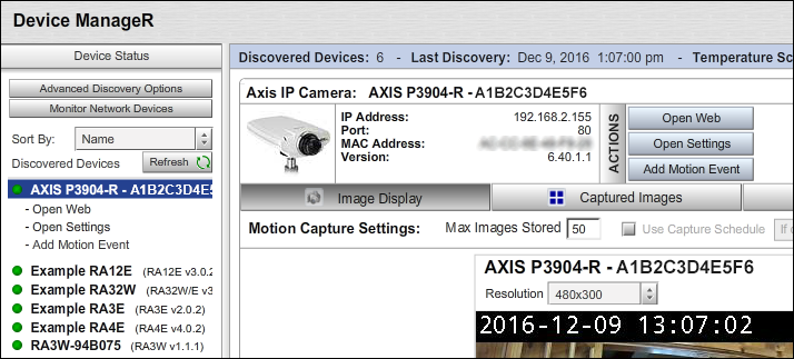 How To Discover Your Axis Camera - AVTECH