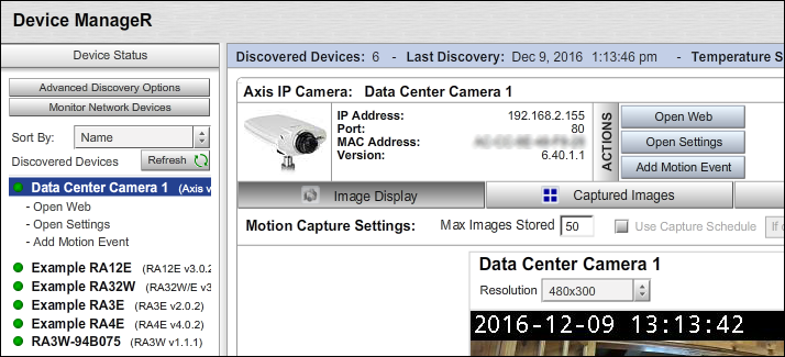 How To Rename An Axis Camera In Device ManageR - AVTECH