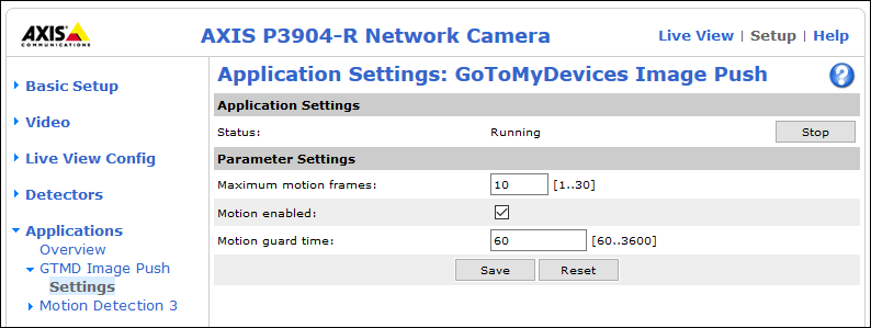 How To Configure RoomAlert com Image Push Settings In Compatible