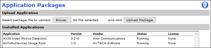 Axis_Setup_Applications_InstalledApplications_VMD3_GTMDPush_Running