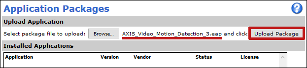 Axis_Setup_Applications_UploadApplication_VMD3_UploadPackageButton