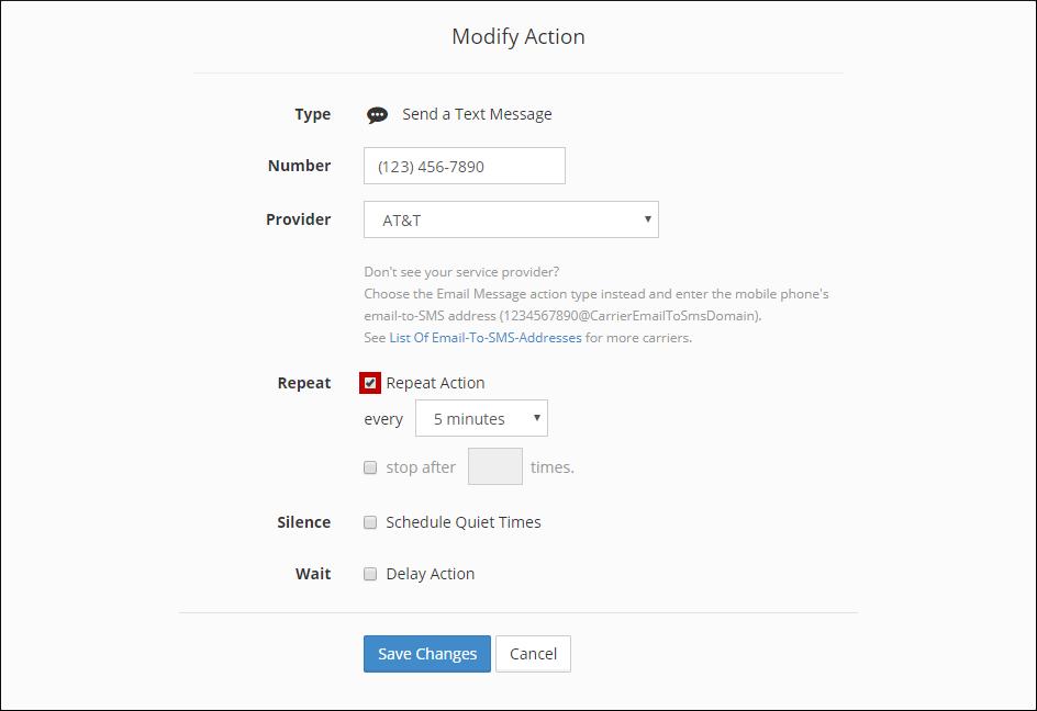 RAA_Modify_Action_Repeat - AVTECH