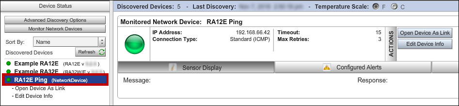 How To Configure Device ManageR To Notify You If A Room