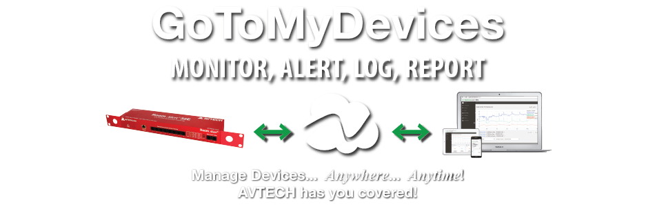 Monitor Room Alert with GoToMyDevices from Anywhere... Anytime!