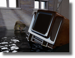 Prevent Flooded Basements with AVTECH's Flood Sensors and GoToMyDevices.